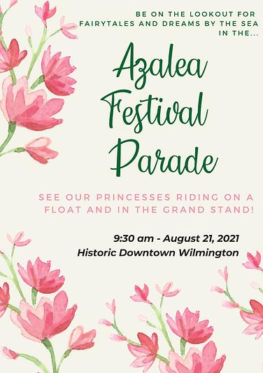 Azalea Festival Parade Poster
