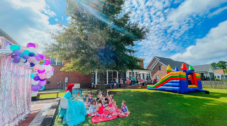 Little Mermaid Princess Birthday Party in Wilmington, North Carolina with Fairytales and Dreams by the Sea