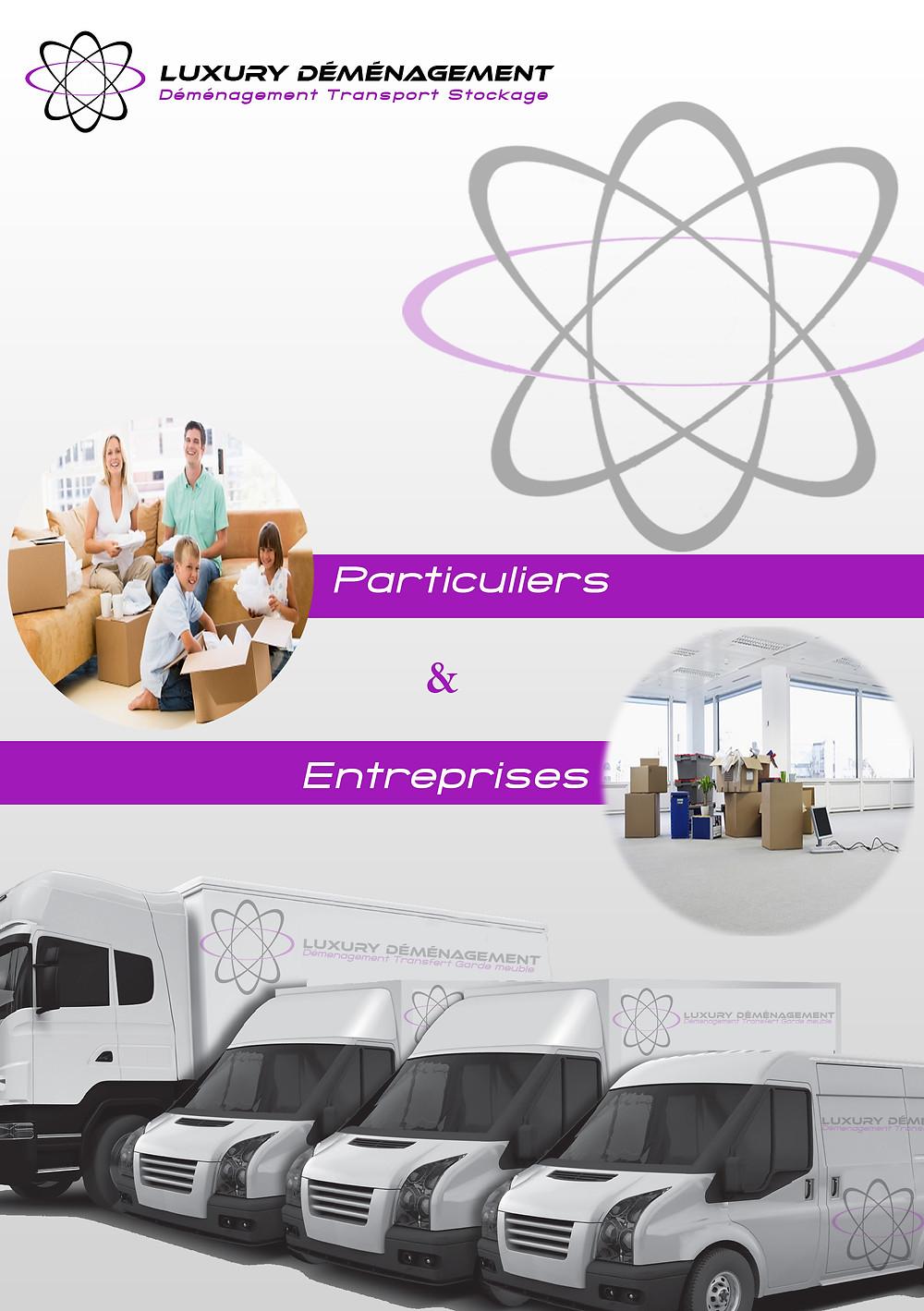 Déménagement particuliers et entreprises