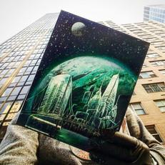 green planet selfie