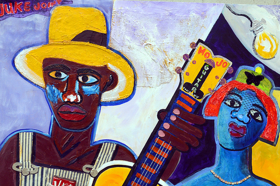 Cafe Blues Night (SOLD)