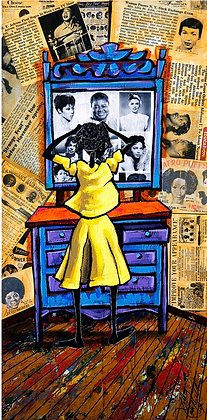 Reflections - Leroy Campbell (Framed)
