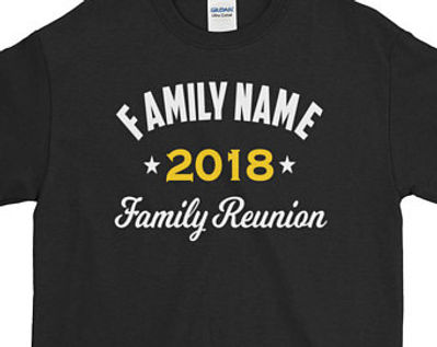 We Now Offer Personalized T Shirts For All Types Of Occasions Family Reunions Birthday Parties School Groups And More Its Never A Wrong Time To Wear