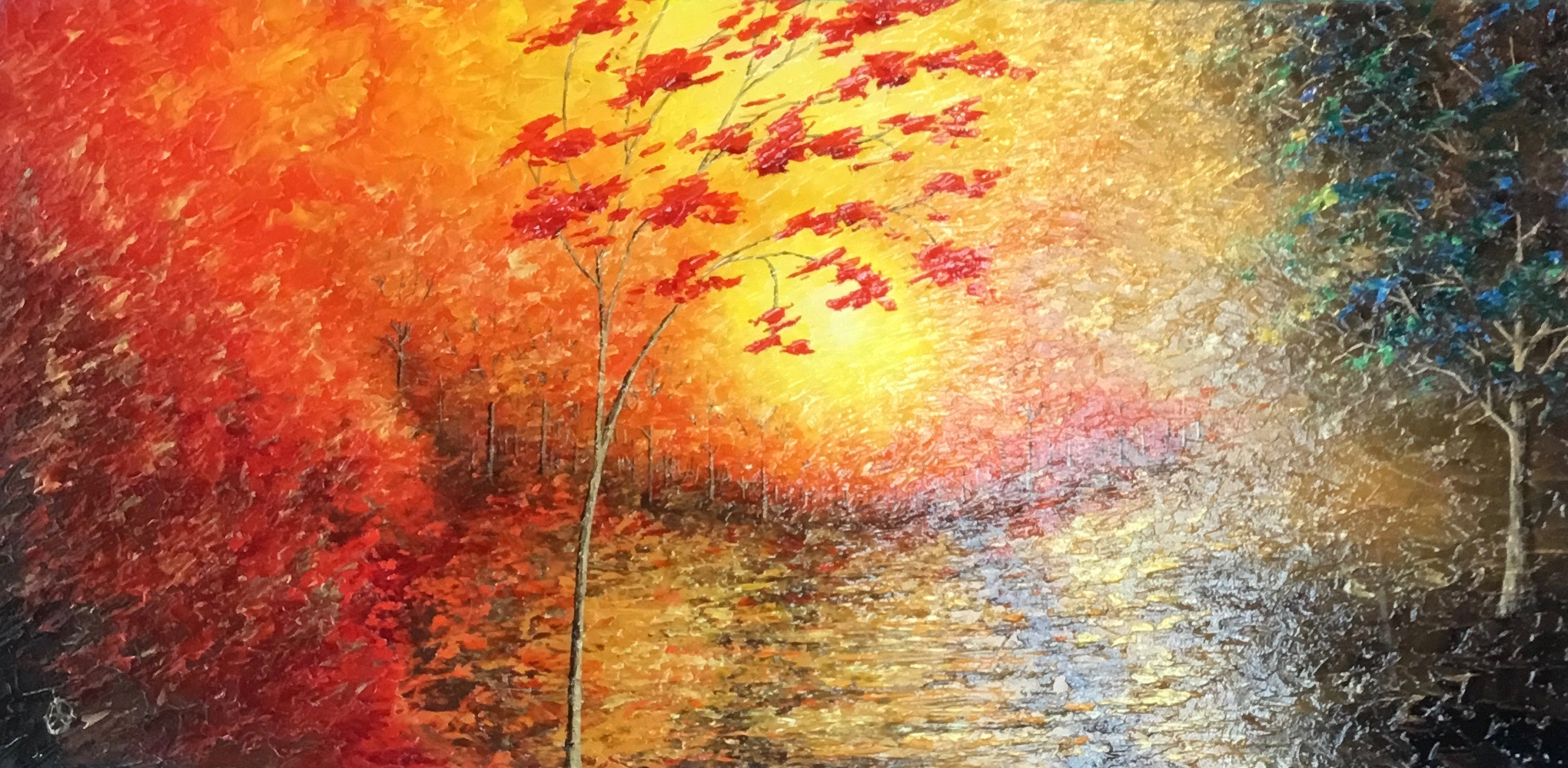 Fall Morning (SOLD)