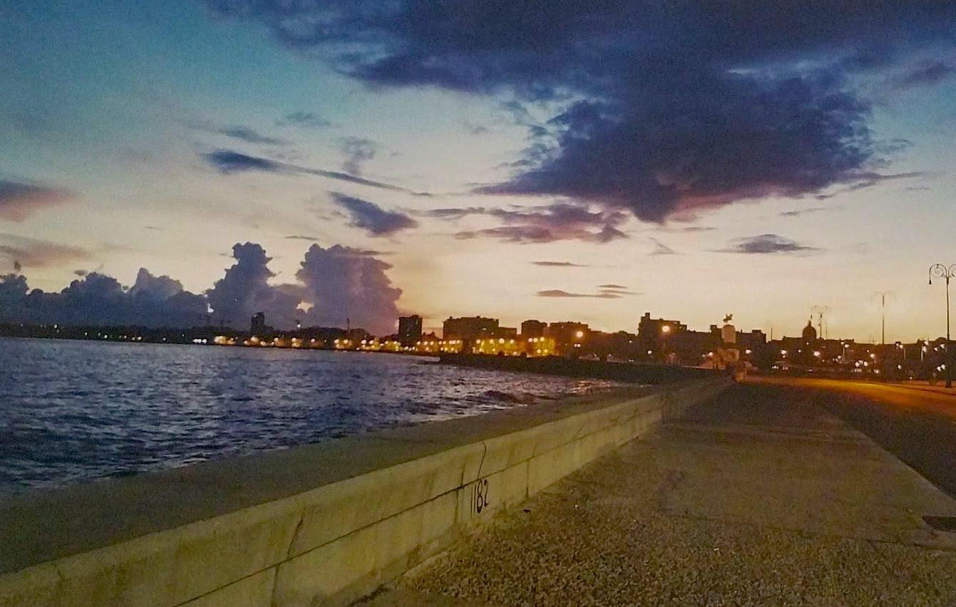 Amaneciendo en La Habana