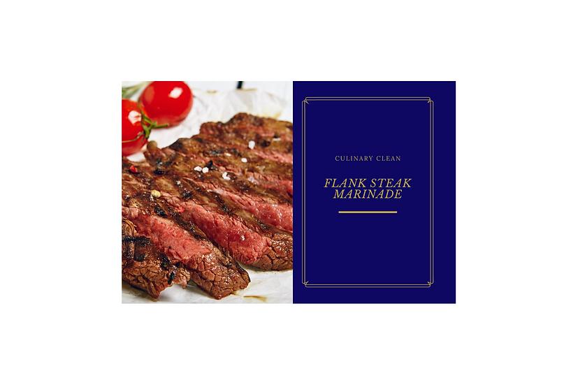 Recipe Card - Flank Steak Marinade