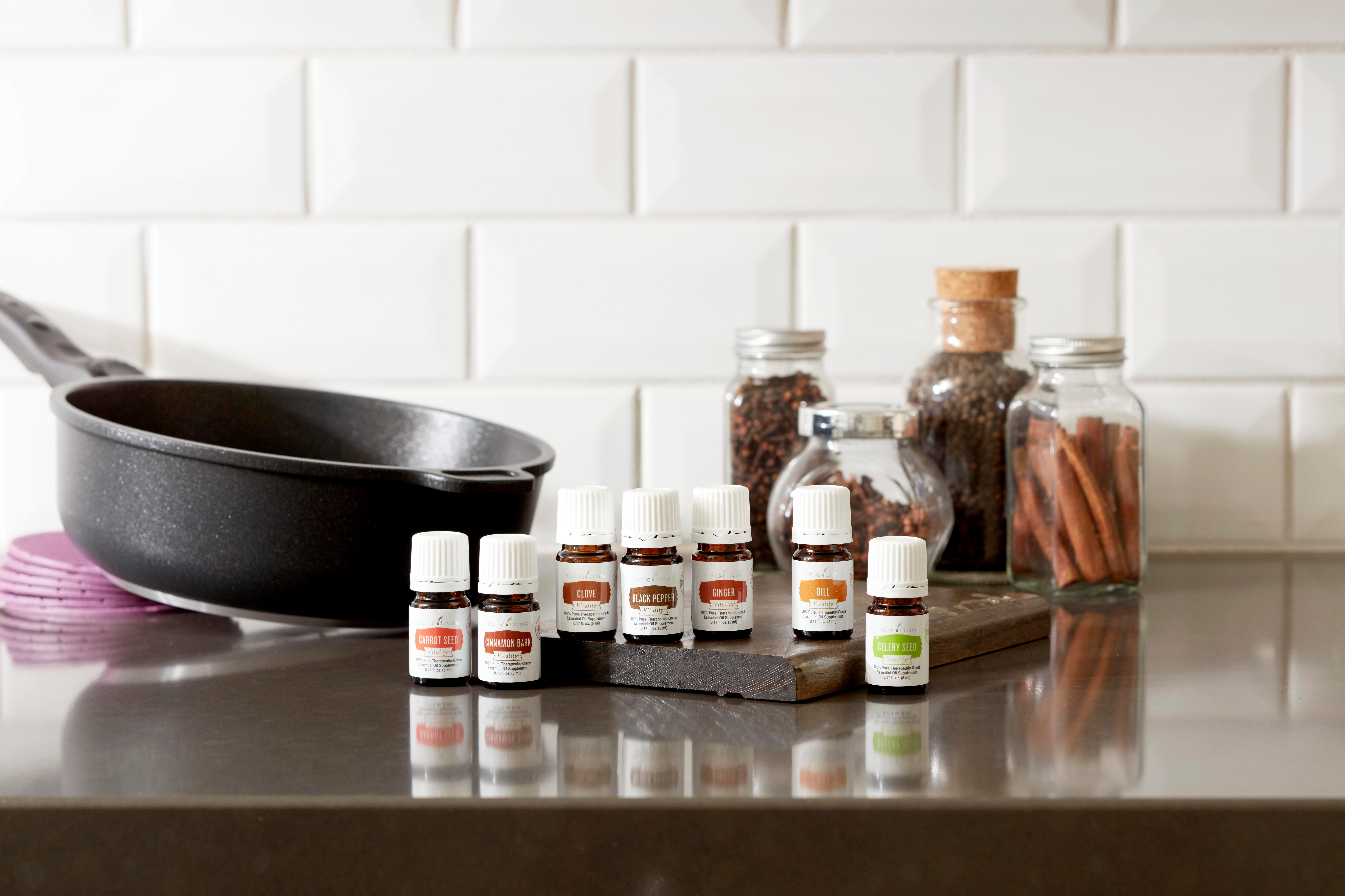 Cooking with Young Living Vitality Oils