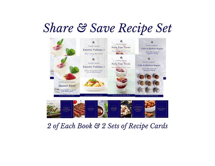Share & Save Recipe Set