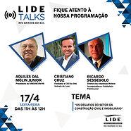 CARD_MÍDIA_SOCIAL_LIDE_TALKS_RIO_GRANDE