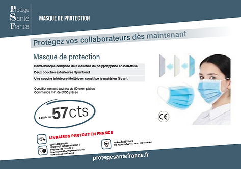 Masque de Protection Covid-19