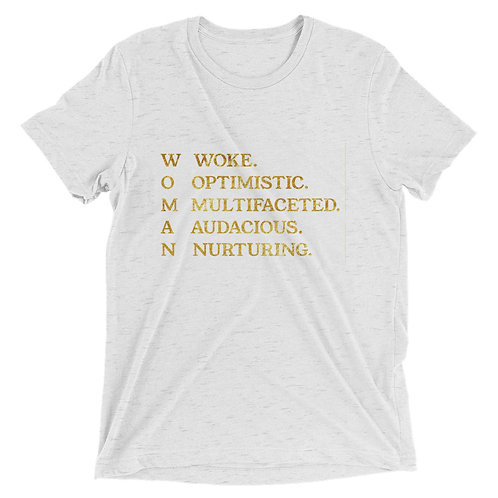 """WOMAN"" Tee Short sleeve t-shirt"