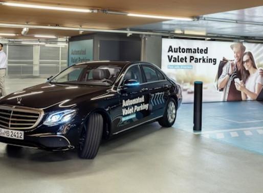 Aprovado estacionamento autônomo sem supervisão humana na Alemanha.