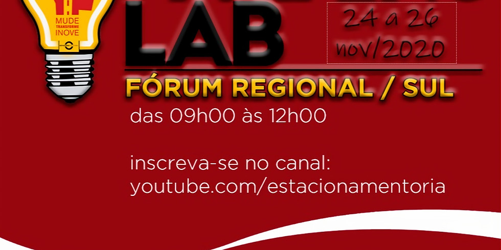 Parking Lab, Fórum Regional Sul / 2020