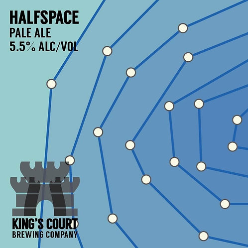 Halfspace - Pale Ale - 5.5% (4Pack / 16oz cans)