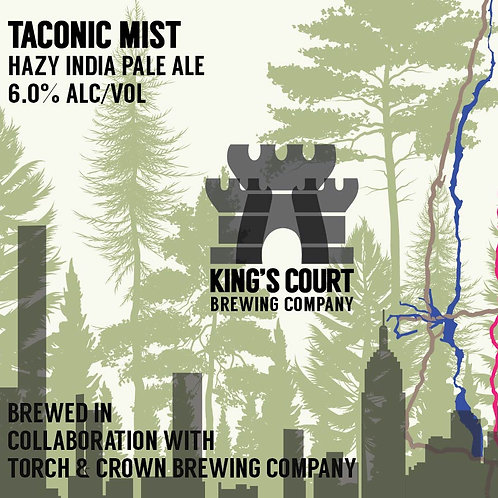 Taconic Mist - Hazy IPA - 6% (4Pack / 16oz cans)