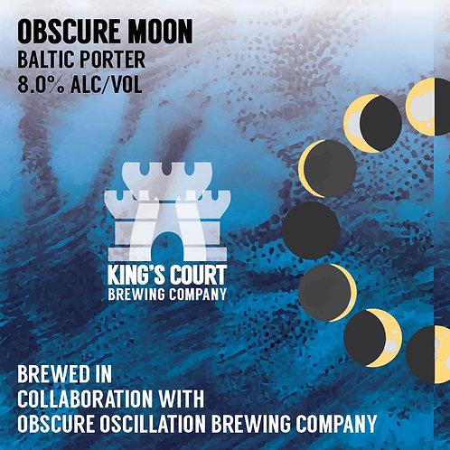 Obscure Moon - Baltic Porter - 8% (4Pack / 16oz cans)