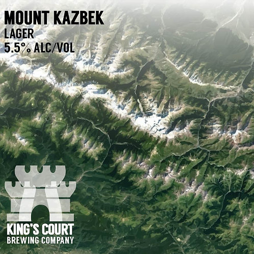 Mount Kazbek - Lager - 5.5% (4Pack / 16oz Cans)