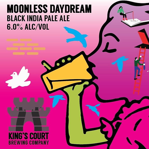 Moonless Daydream - Black IPA - 5.5% (4Pack / 16oz cans)