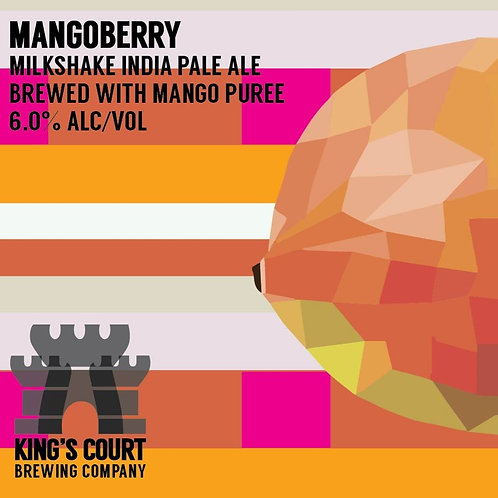 Mangoberry - Milkshake IPA - 6% (4Pack / 16oz cans)