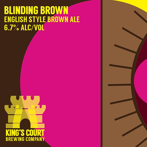 Blinding Brown - English Brown - 6.7% (4Pack / 16oz cans)