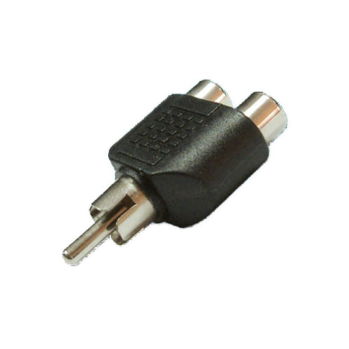 RCA Plug to Double RCA Jack