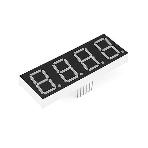 0.56'' Common Anode 7-Segment Display (Red)