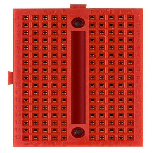 170pts Mini Breadboard SYB-170 Red with Connect