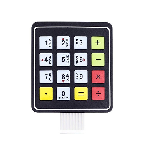 4x4 16 Key Matrix DIY Membrane Switch Touch Pad (76x69x0.8mm)