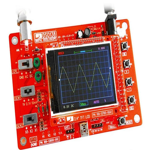 All Soldered DSO138 Digital Oscilloscope