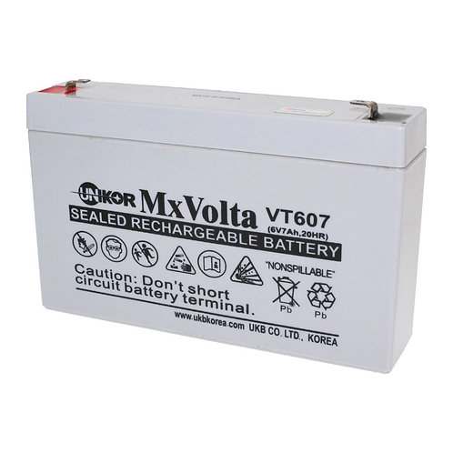 6V/7Ah VRLA Battery (151L X 50W X 94H mm F1 Terminal)
