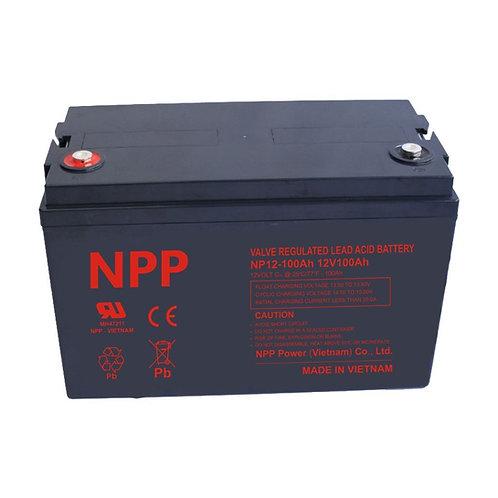 12V/100Ah AGM Valve Regulated Lead Acid Battery