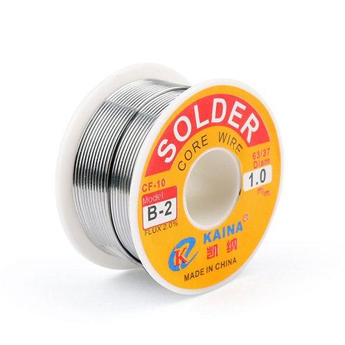63/37 Tin Lead Rosin Core Solder Wire 100g