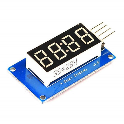 TM1637 4-Bits LED Display Module & Clock