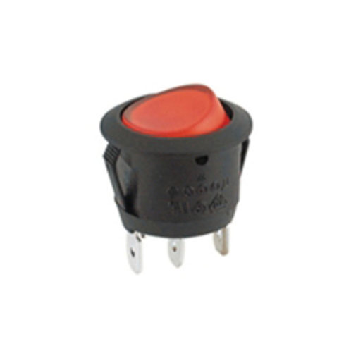 3P SPST Illuminated Rocker Switch (ON-OFF)