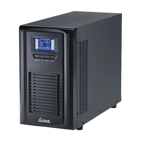 2KVA/1400W On-Line UPS (12V/7Ah x 8PCS)