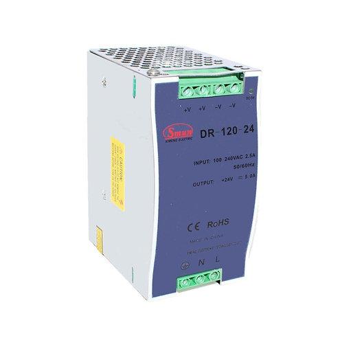 120W Single Group Rail Type (24V 0- 5A) Switching Mode Power Syupply