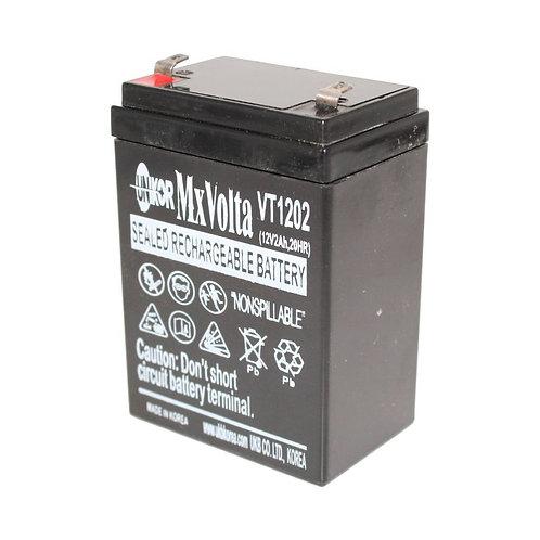 12V/2Ah AGM Battery (178L X 35W X 61H mm F1 Terminal)