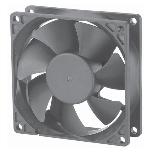 12VDC Brushless Fan (80X80X25.4mm)