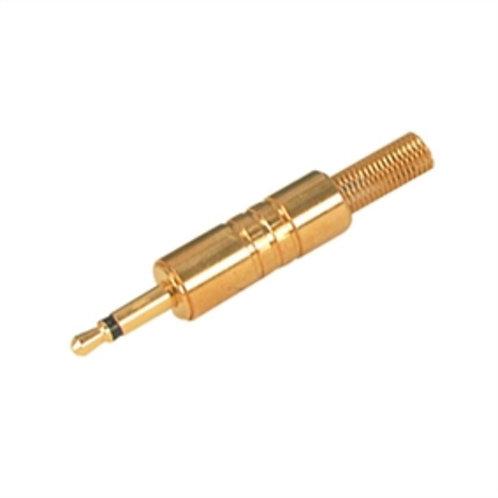 3.5mm Gold Plated Miniature Mono Plug