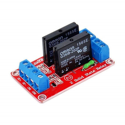 2-Channels Solid State Relay Module