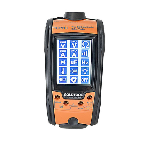 All-In-One True RMS Multimeter Cable Tester