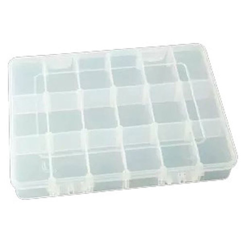 Two Layer Storage Box (23.4x16.8x6.2cm)