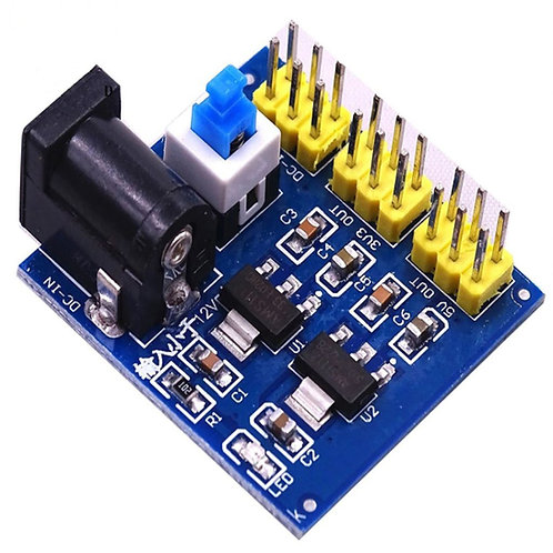 Multi Output Voltage DC-DC 12V to 3.3V 5V 12V Power Module