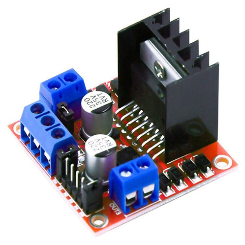 L298N Motor Driver Board Red