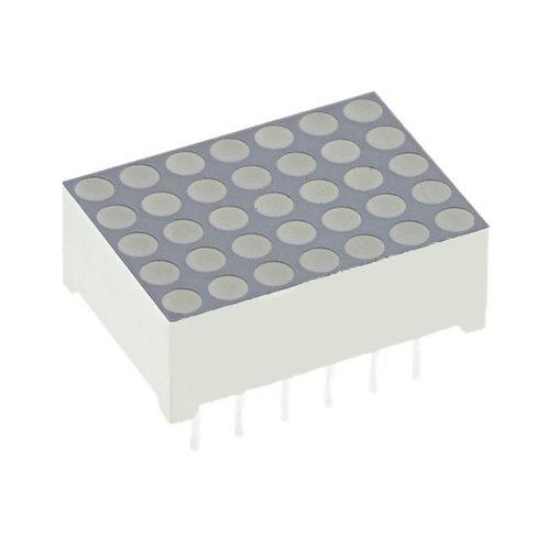 1.2'' Common Cathode Dot Matrix (Super Red)