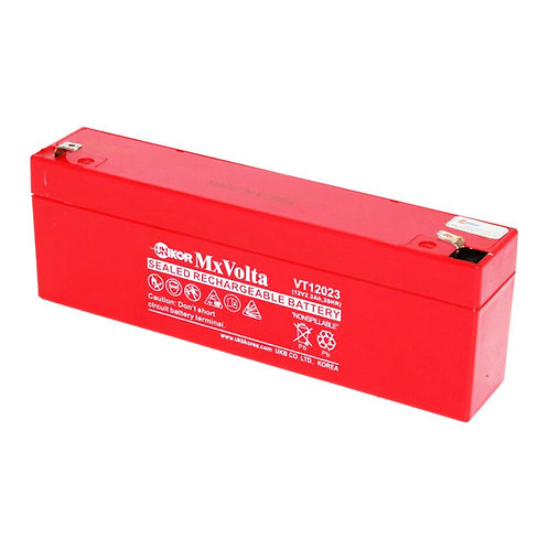 12V/2.3Ah VRLA Battery (70L X 47W X 101H mm F1 Terminal)