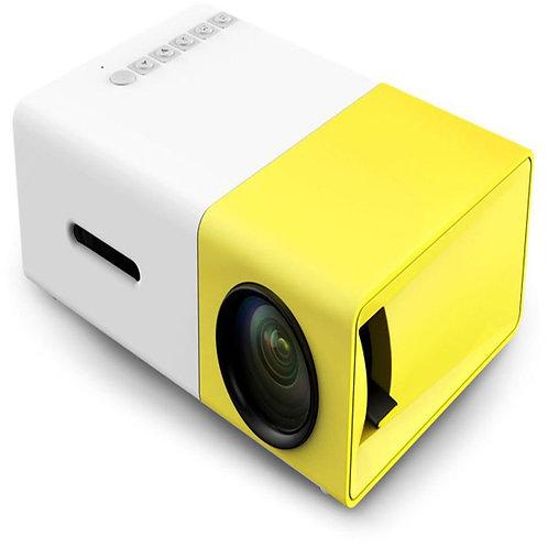 YG-300 LCD Mini Portable Projector (Yellow)