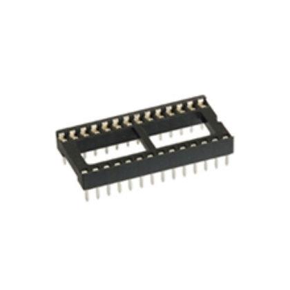 28P IC Socket (DIP Solder Type)