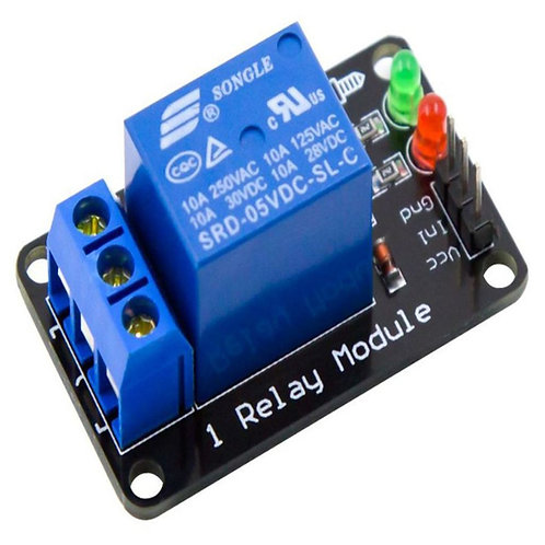 1-Channel Relay Module without Light Coupling 5V