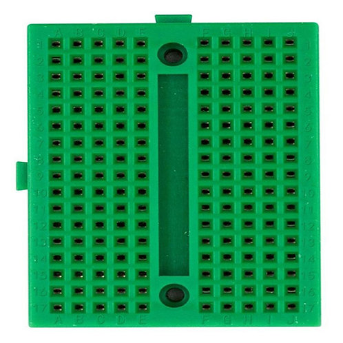 170pts Mini Breadboard SYB-170 Green with Connect